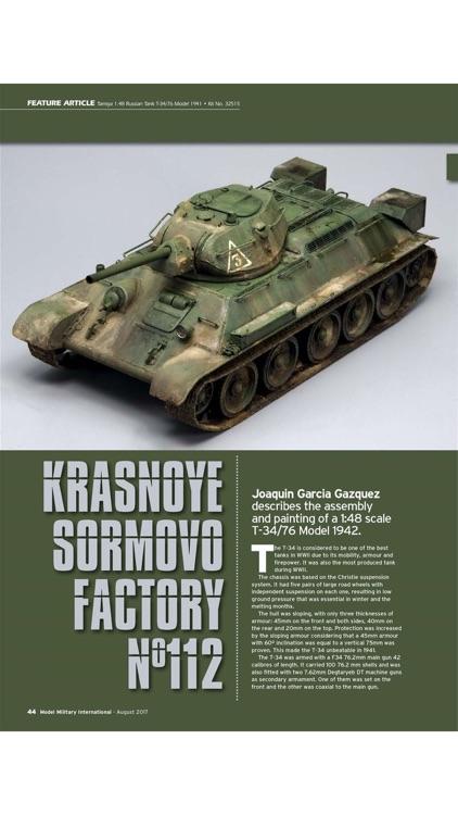 Model Military International Magazine screenshot-4