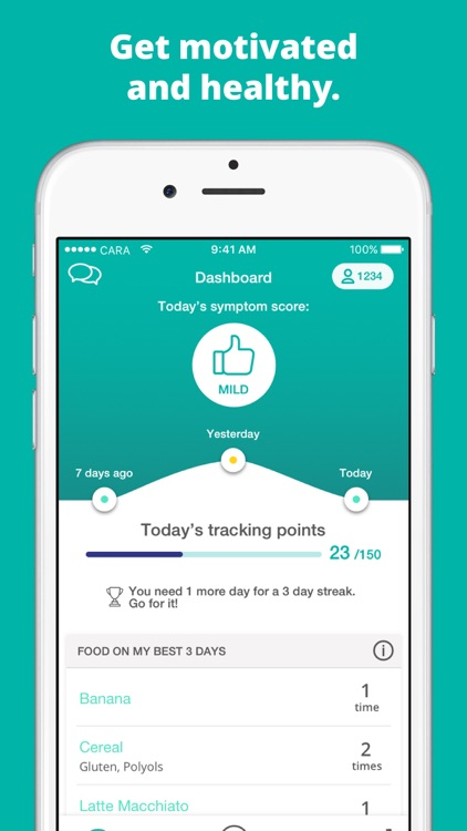 Cara: Food, Mood, Poop Tracker screenshot-3