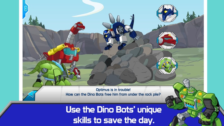 Transformers Rescue Bots: Dino Island screenshot-2