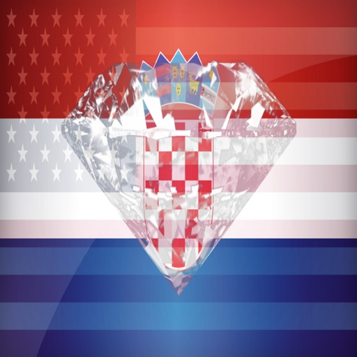 Croatian Phrases Diamond 4K Edition icon