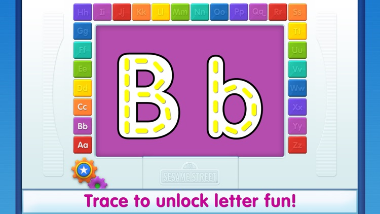 Elmo Loves ABCs Lite screenshot-1