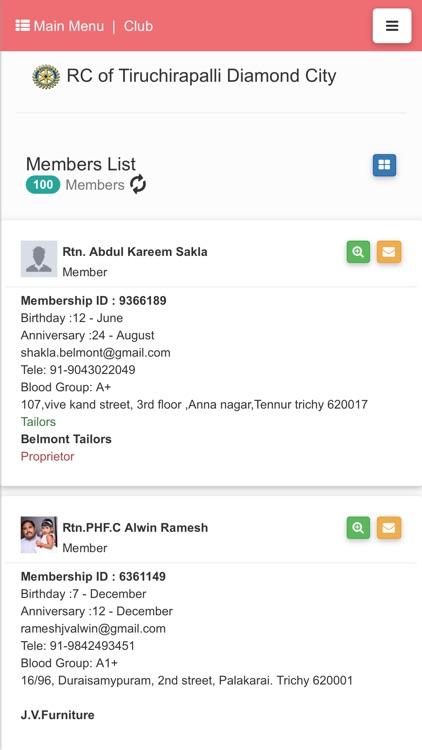 MyClubOnNet - Club Management screenshot-3