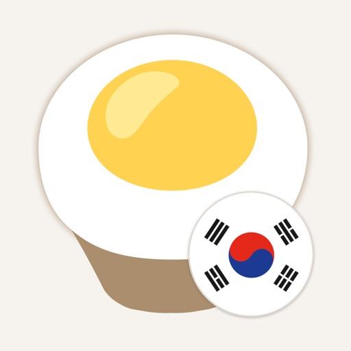 Chat to Learn Korean - Eggbun app logo
