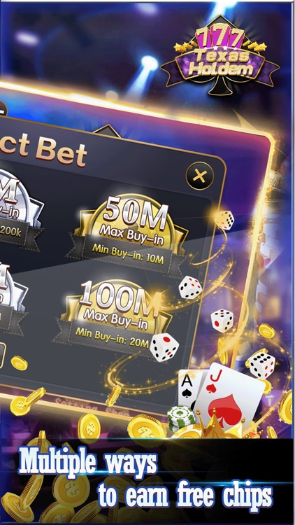 Texas Holdem-Offline Poker Casino Games screenshot-0