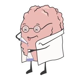 Brainiac stickers by Fidan