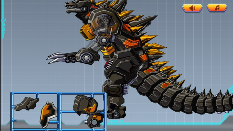 机器人怪兽大战金刚