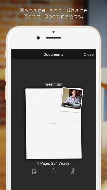 Hanx Writer screenshot-3