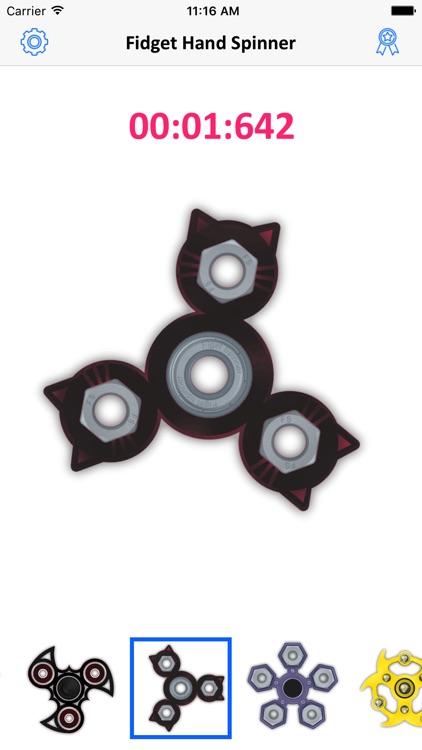 Fidget Hand Spinner Game