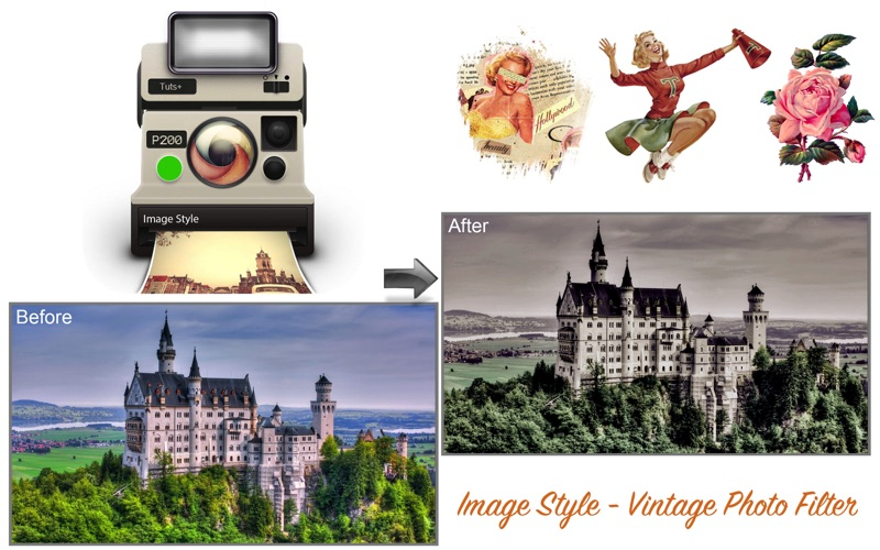 Image Style - Vintage Photo Filter for Mac