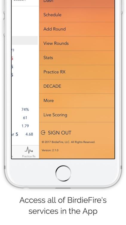 BirdieFire : Live Scoring and Analytics screenshot-3