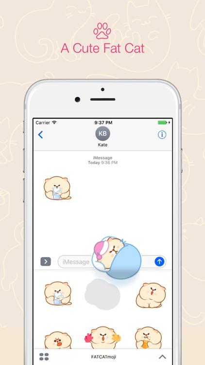 FATCATmoji - Fat Cats Animated Emoji for iMessage