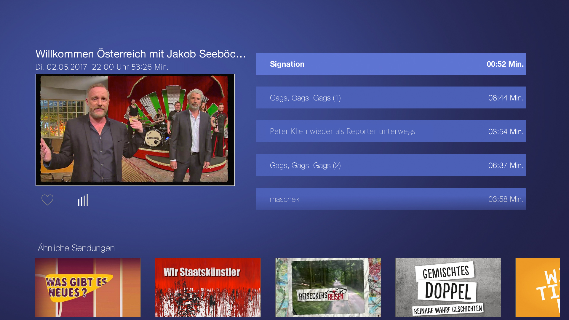 ORF-TVthek: Video on demand, live | Apps | 148Apps