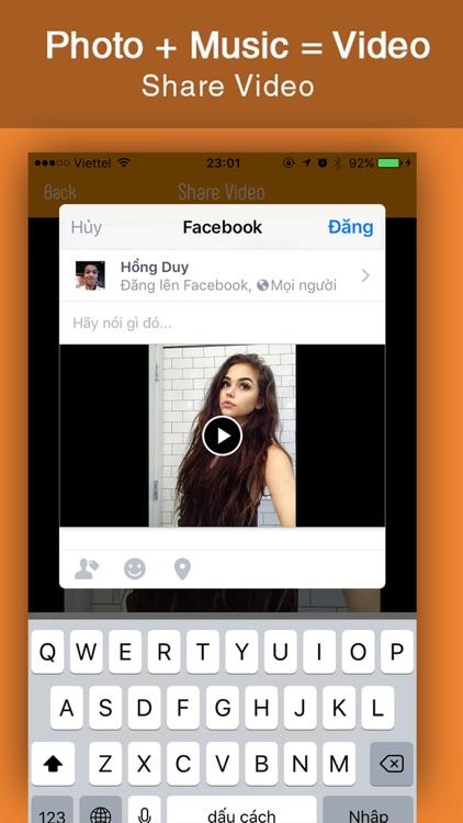 Photo Video Maker with Music, Video Slideshow screenshot-3