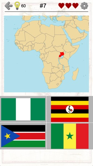 African countries flags and map of africa quiz on the app store screenshots gumiabroncs Gallery