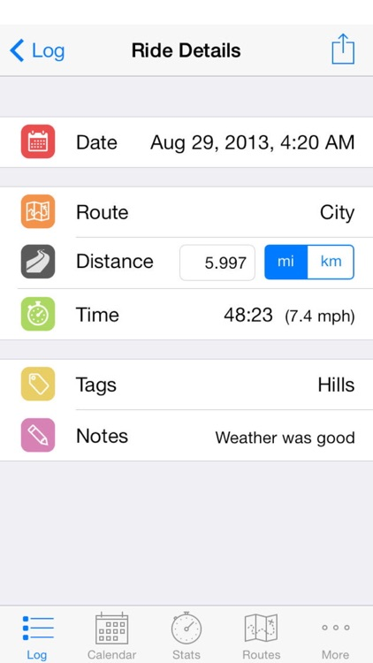 Cyclist Log screenshot-0