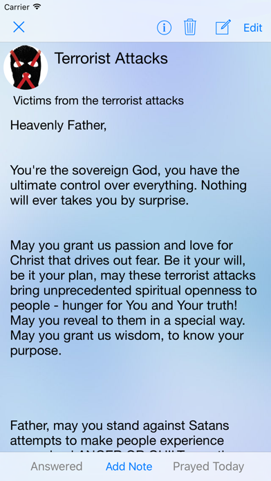 Prayer App review screenshots