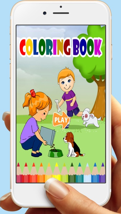 Pets Coloring Book Games For Kids screenshot one