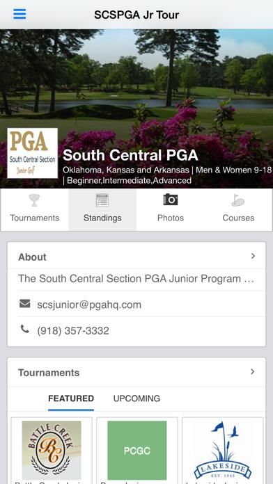 点击获取South Central Section PGA Jr
