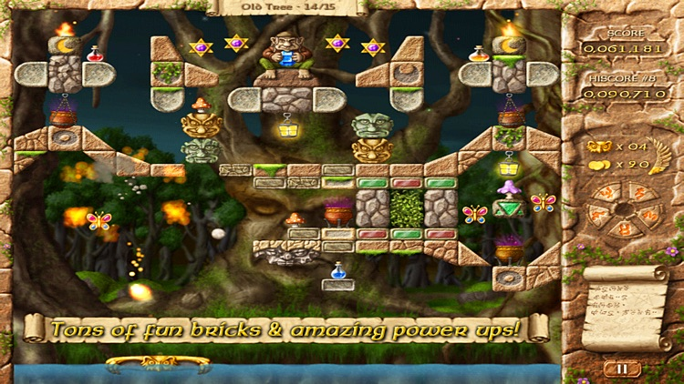 Fairy Treasure - Brick Breaker screenshot-0