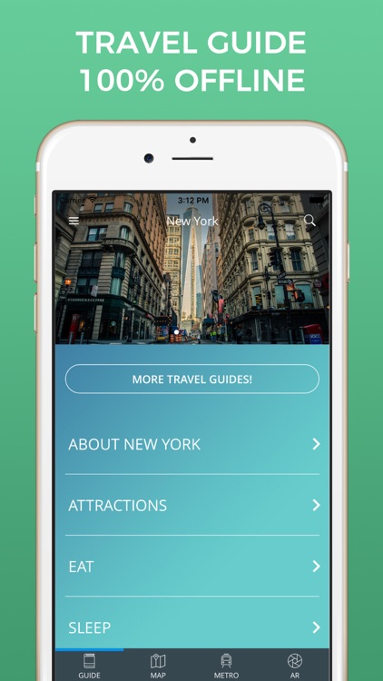 Iphone Map Of New York Offline.New York City Travel Guide With Offline Street Map By Nicolas Martinez
