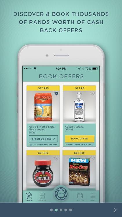 SNAPnSAVE: SA's #1 Cash Back App