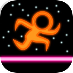 A Neon Color Forge Light And Crazy - Speed Line Stick Runner Game Free