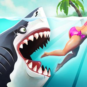 Hungry Shark World Games app