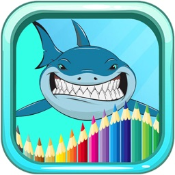 Demons Of The Sea Colouring Book Game