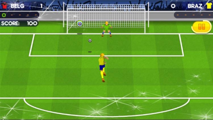 Penalty Kick Soccer Games 2018 Sports screenshot-3