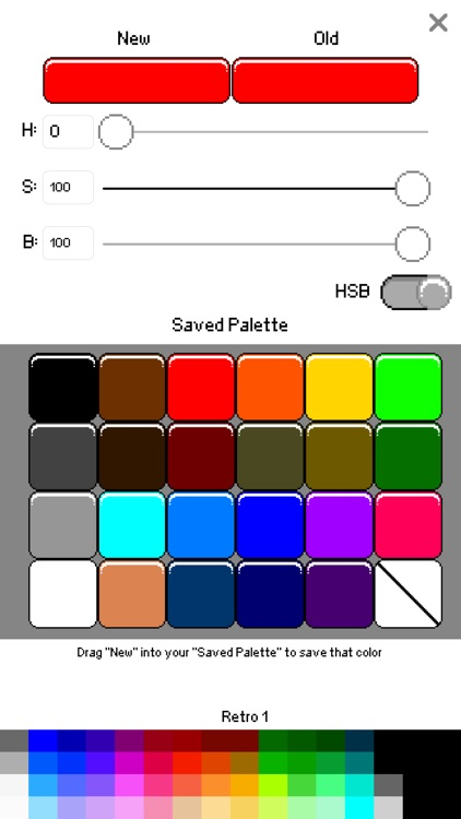 Sprite Creator - Pixel Art Maker screenshot-2