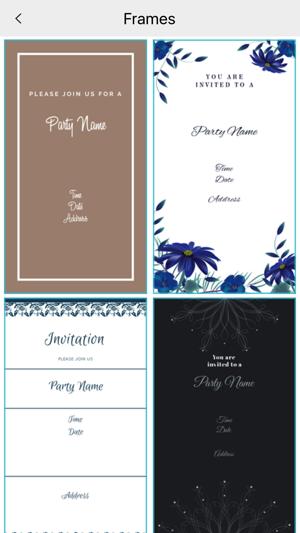 Custom party invitation card maker on the app store custom party invitation card maker on the app store stopboris Gallery