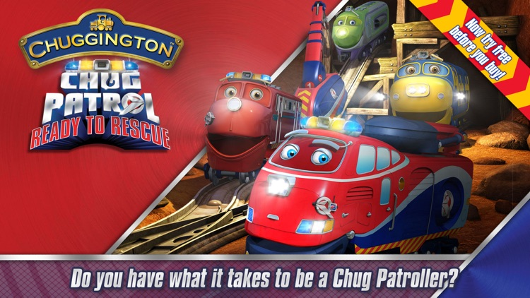 Chug Patrol: Ready to Rescue ~ Chuggington Book screenshot-0