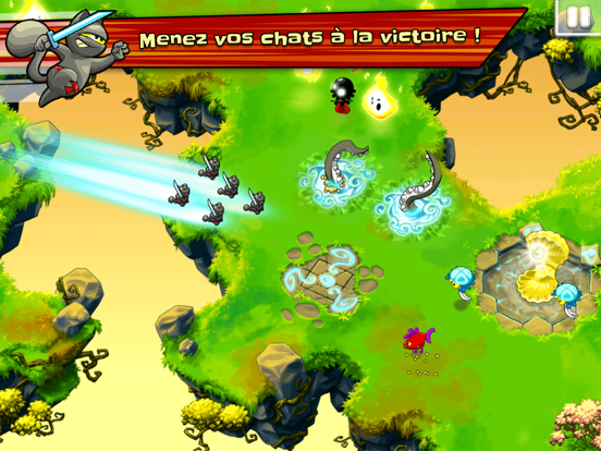 Screenshot #5 pour Ninja Hero Cats