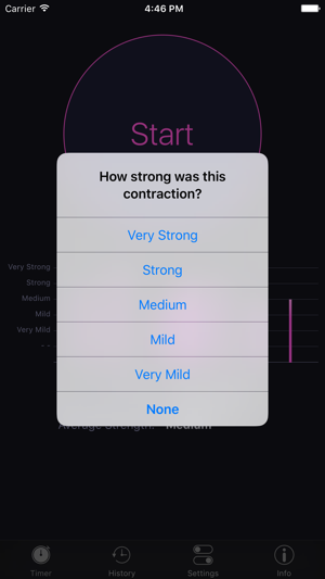 how to track an iphone free contraction master on the app 7125