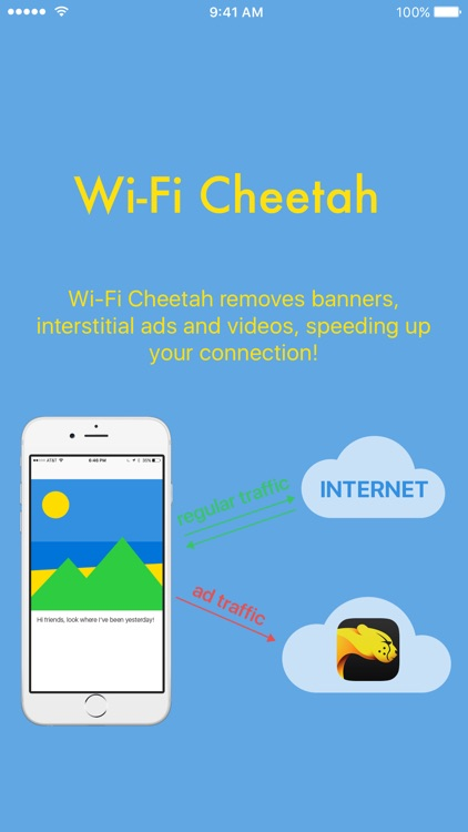 Wi-Fi Cheetah - Fast browsing with no ads