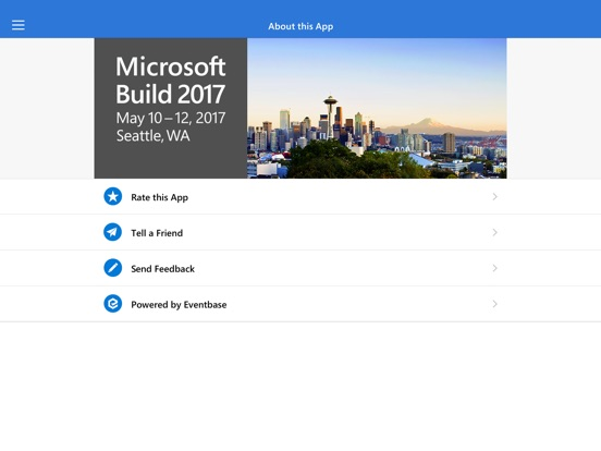 Microsoft Build 2017 Screenshot