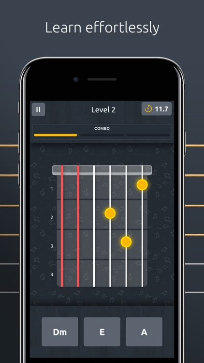DoubleTune - Tuner for Guitar, Ukulele and Bass screenshot-3