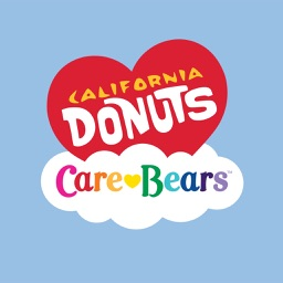 Care Bears x California Donuts Stickers