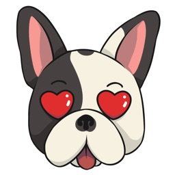 FrenchieMoji - French Bull Dog Emojis & Stickers