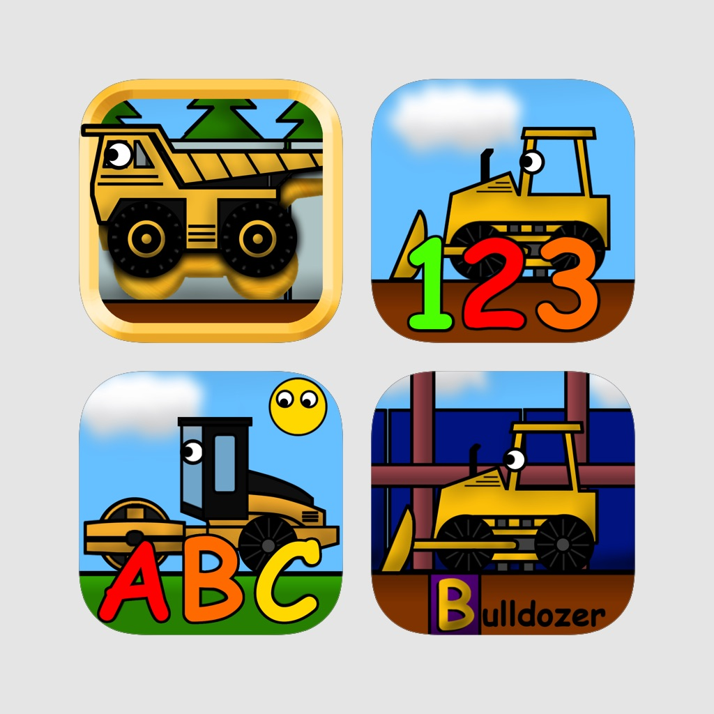 Kids Trucks Bundle: Educational Games Pack