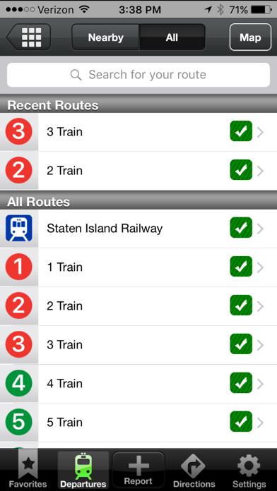 Roadify - Train, Subway, Bus, Ferry & Parking screenshot