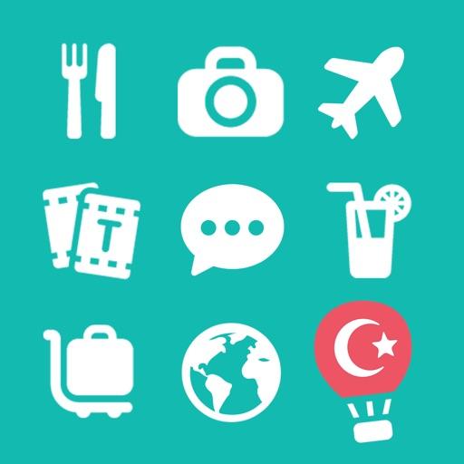 LETS Travel Turkey! Talk Turkish Phrase Guide Book