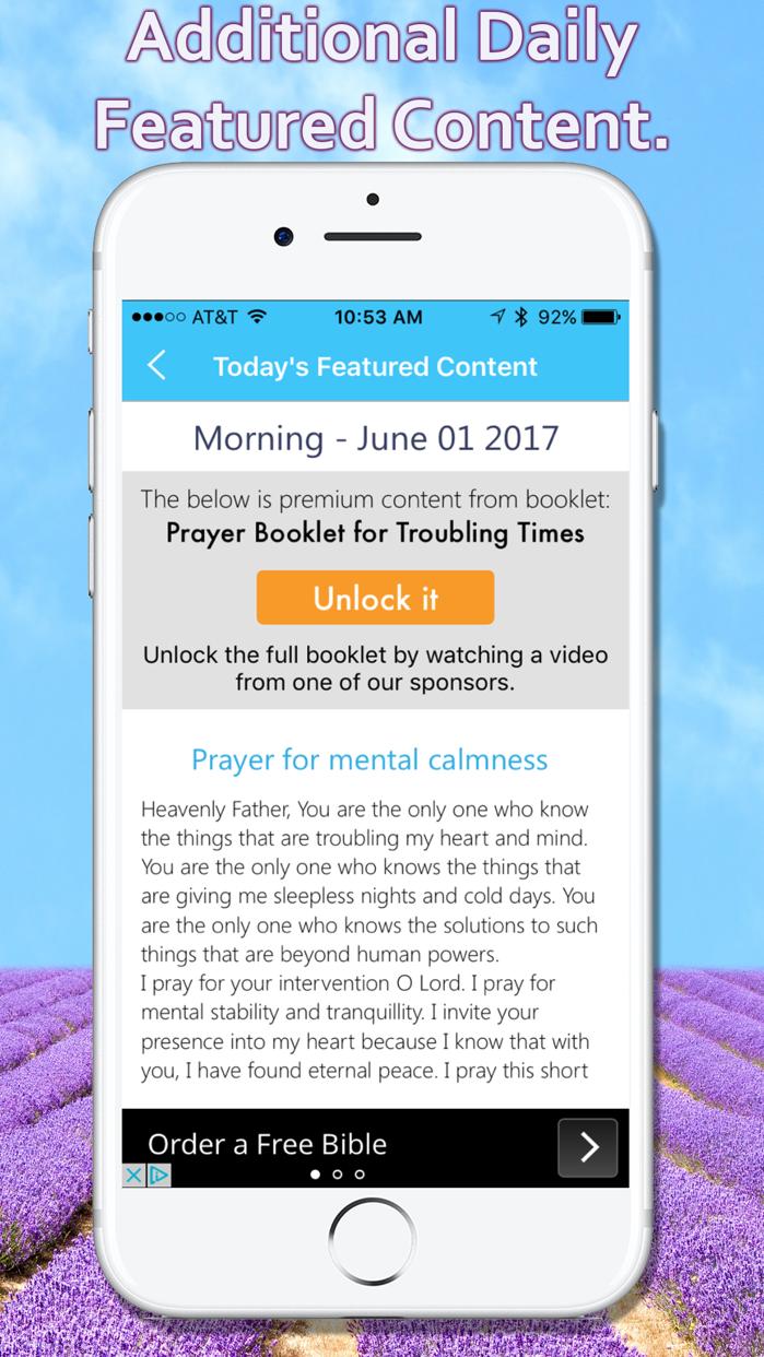 Daily Bible App Screenshot