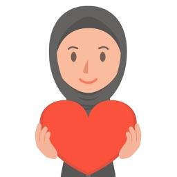 Muslimoji woman
