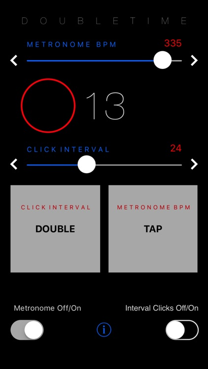 DoubleTime Metronome