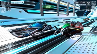 Screenshot from Cosmic Challenge Racing