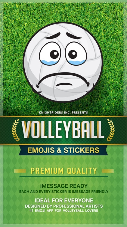 VolleyMoji - volleyball emoji & stickers keyboard