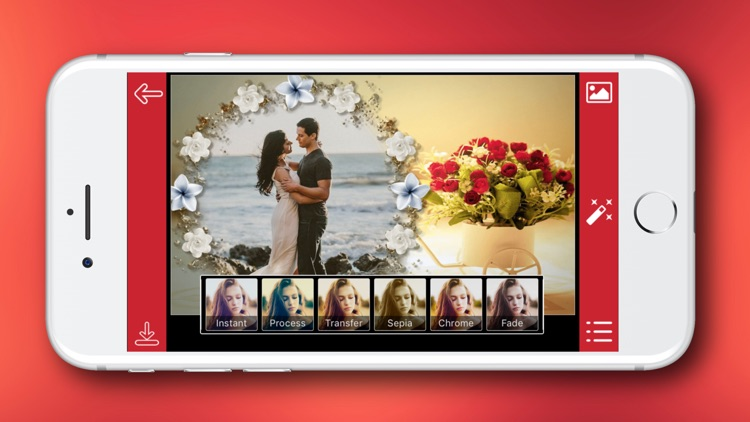 Romantic Photo Frame - Instant Frame Maker