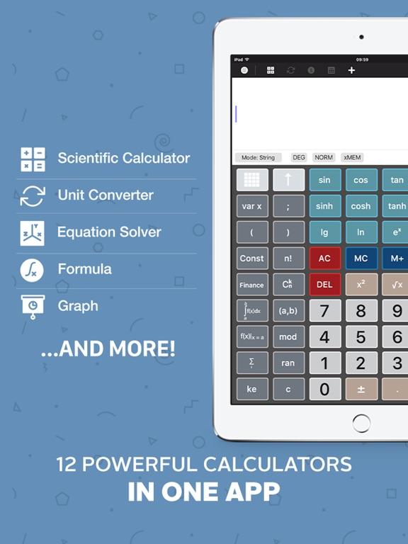 Calculator : Scientific Calculator Unit Converter - AppRecs