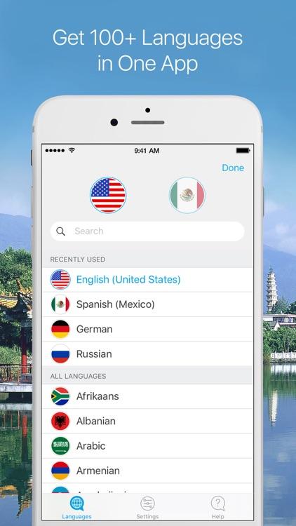 Live Translator Lite - Voice & Text Translator screenshot-3